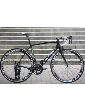Specialized S-Works Tarmac SL4 with HTC-Highroad team issue paintjob