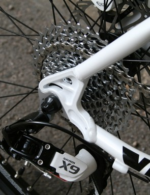 SRAM 12-36t ten speed cassette pairs with X.9 rear derailleu