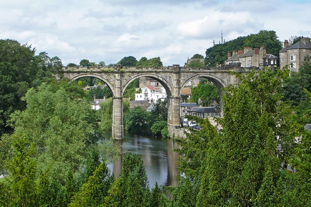 A new traffic-free route will link Bilton, Harrogate and the village of Ripley in North Yorkshire, crossing over the impressive Nidd viaduct