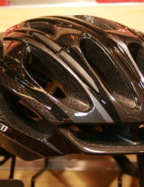Specialized's mid-range Propero II road helmet is aesthetically similar to the Prevail but isn't as light and doesn't have the Kevlar reinforced inner-matrix