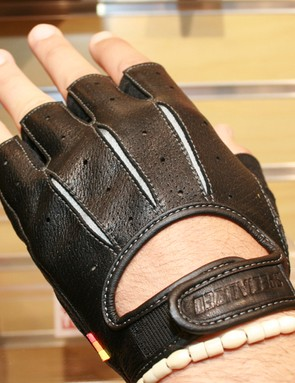 A companion fingerless glove fills out the 74 range