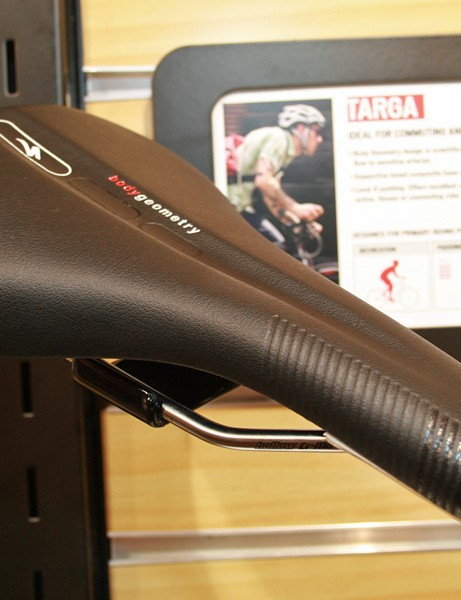 The Targa is Specialized's new commuting saddle