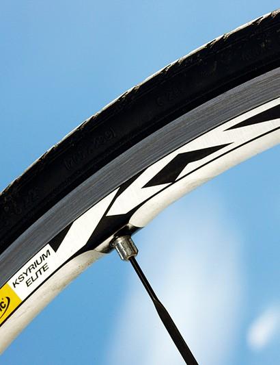 Mavic Ksyrium Elites are classic race-ready wheels