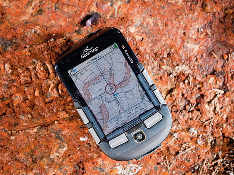 Satmap Active 10 Bike GPS unit