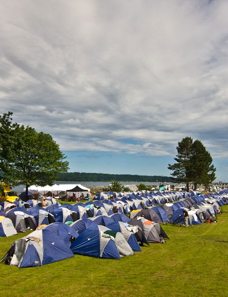 Base Camp at Campbell River on Vancouver Island