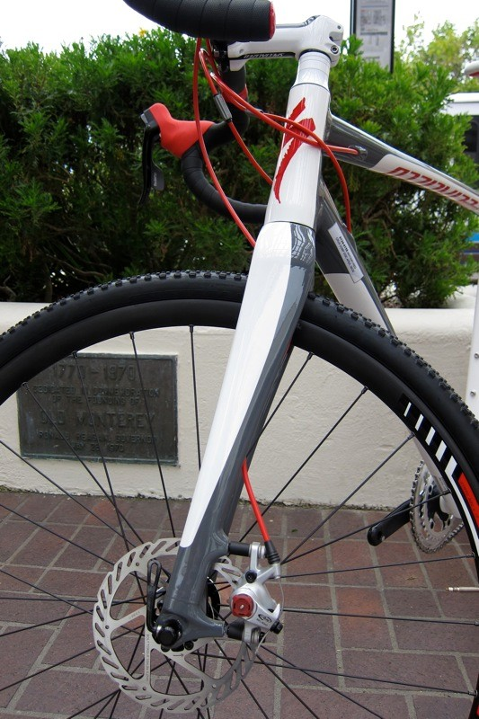 Specialized's new S-Works level full-carbon disc fork