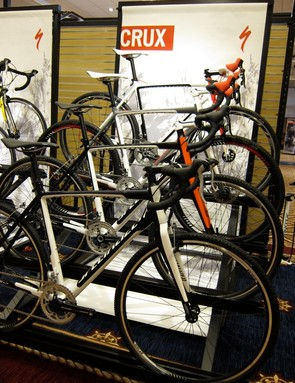 The Crux Comp Disc is joined by three cantilever equipped models for 2012, as well as two frame modules (disc and standard)
