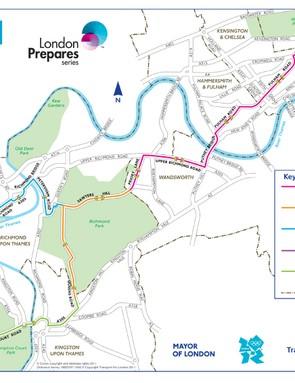 London-Surrey Cycle Classic road closures