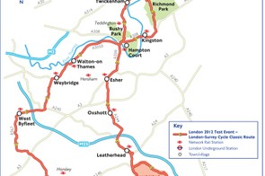 London-Surrey Cycle Classic transport links