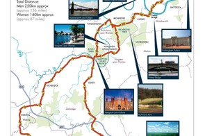 London-Surrey Cycle Classic route
