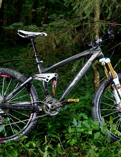 The Trek Remedy is slimmer, lighter and slacker for 2012, with improved suspension
