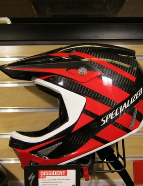 The Monster Energy-Specialized team will debut the new helmet at Crankworx this weekend