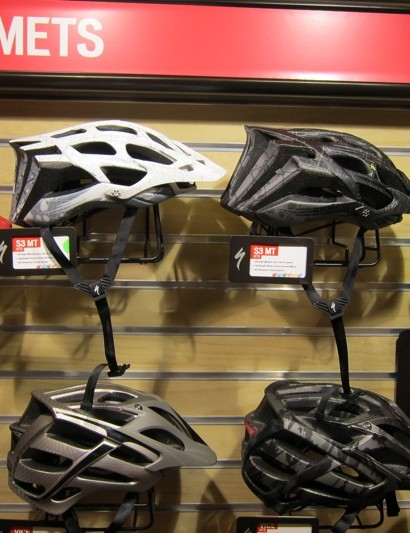 Specialized's S3 MT helmet is their top-of-the-line cross-country model, which costs $150