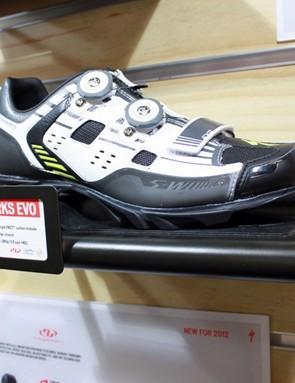 The new Specialized S-Works EVO mountain shoe