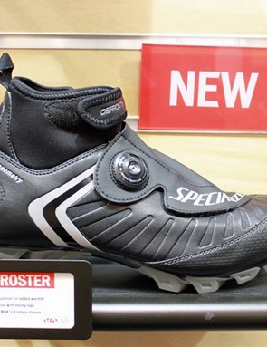 Specialized also offer a new version of their Defroster winter mountain shoe, which will be a good addition to US cyclo-crossers' kit to help deal with Nationals in Wisconsin