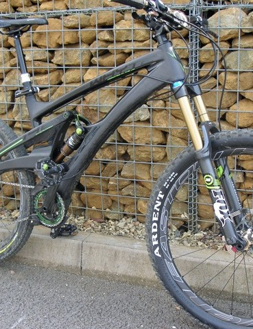 Whyte's stealthy-looking new 146X Trail flagship