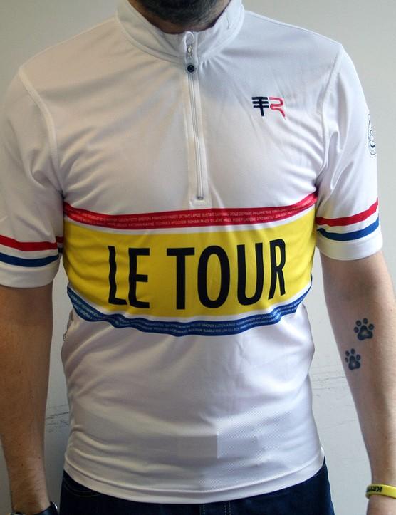 Telegraph Road Le Tour jersey