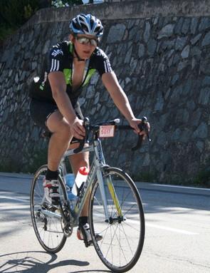 Scott on Alpe d'Huez