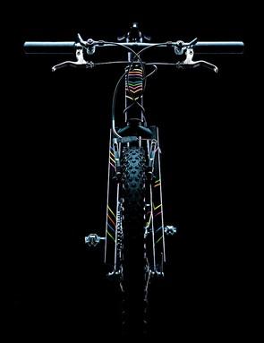 All Vandeyk's bikes are handbuilt