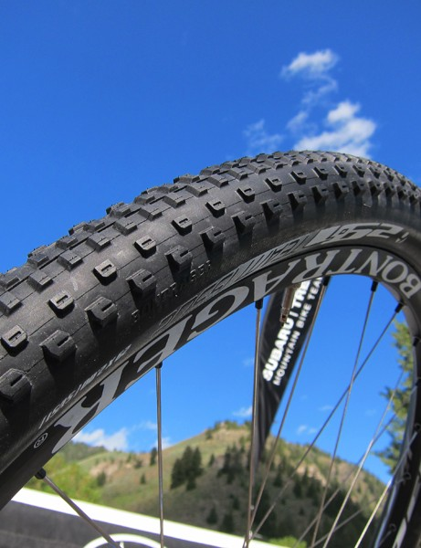 The Subaru-Trek team previewed Bontrager's upcoming 29-1 Team Issue tire at the USA Cycling Mountain Bike Cross-Country National Championships in Sun Valley, Idaho