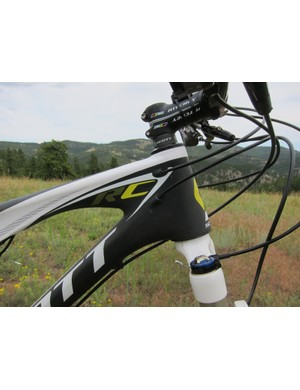 Scott have added tapered head tubes to all 2012 Spark frames