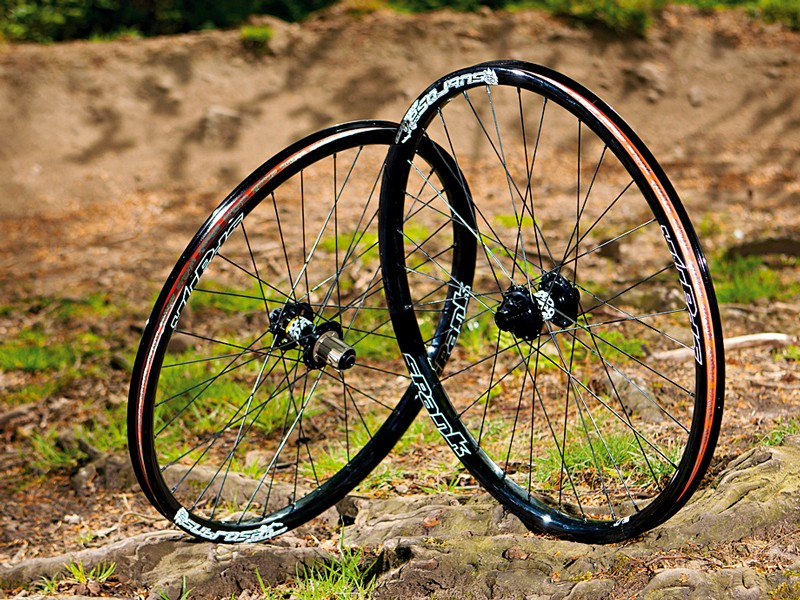 CRC custom wheel: Nukeproof hub/Spank rim