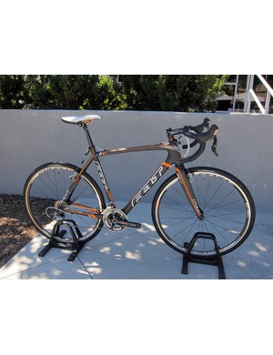 The Felt F4X is the least expensive carbon 'cross bike in the range at US$2,799
