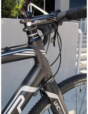 Felt includes a tapered head tube on its revamped alloy 'cross frames for 2012