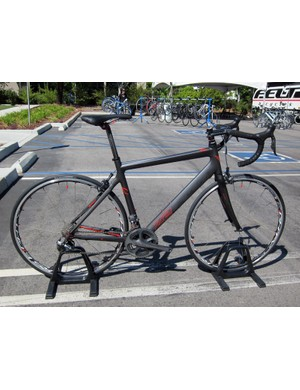 Felt continues to offer the taller and mellower Z-series road bikes in 2012