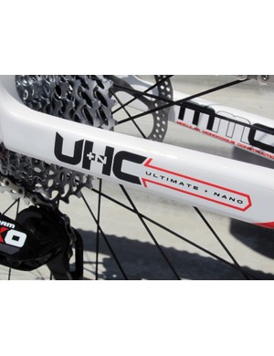 The 2012 Felt Nine Team Carbon gets some additional material for extra durability