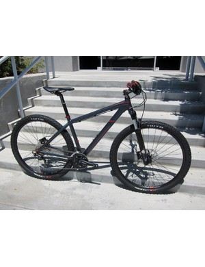 The Felt Nine Comp gets a stealthy finish for 2012