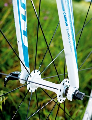 These Alex wheels may not be the lightest, but they have lovely white livery – if you care about that