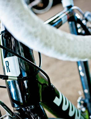 The bulging head tube's relatively slack angle meant safe steering for some, but boredom for others
