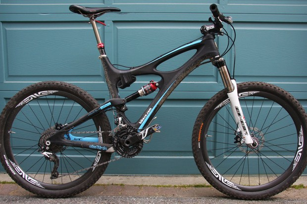 Lopes piloted his ibis Mojo SL-R to a 12th place finish at BC Bike Race