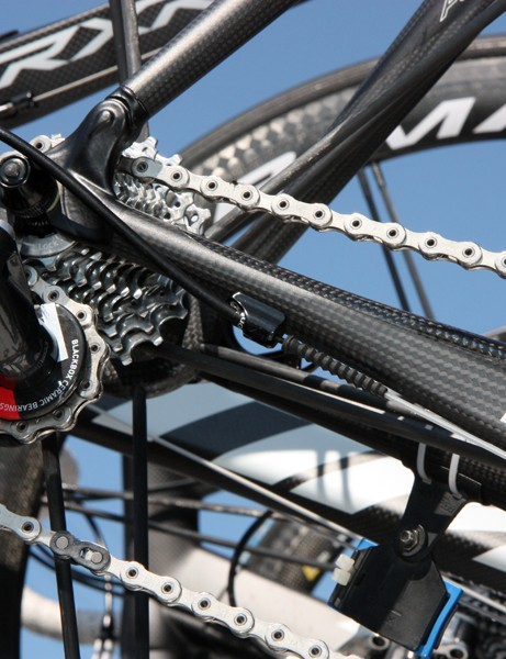 Gore's Ride-On sealed cable systems are very popular amongst the pro ranks for the lighter lever feel they provide and their reliable all-weather performance.