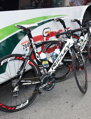 Vacansoleil-DCM has so far mostly stuck with its standard Ridley Noah machines in this year's Tour de France.