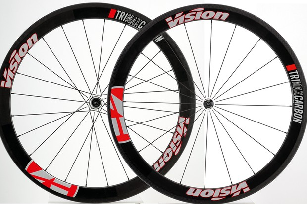 Vision Trimax T42 wheelset