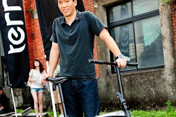 Former Dahon employees Joshua (pictured) and Florence Hon are being sued after settting up a rival folding bike business, Tern Bicycles