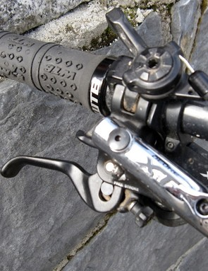 WTB lock on grips provide steering assurance