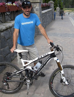 Man and his machine, Weir and his carbon Jekyll