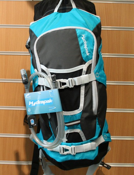 Hydrapak's Reyes is available in this new teal colourway for 2012