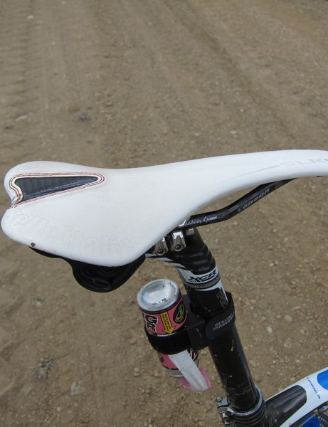Selle Italia's SLR Kit Carbonio saddle with carbon rails