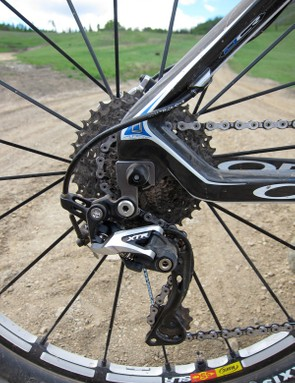 Orbea's 4x4 frame design can be described as a passive suspension system, which flexes to offer a more comfortable ride