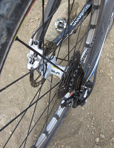 Mavic's new CrossMax SLR rear hub uses the ITS-4 freehub mechanism