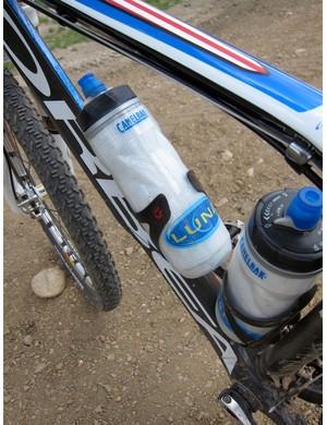 The Luna Team uses Camelbak bottles