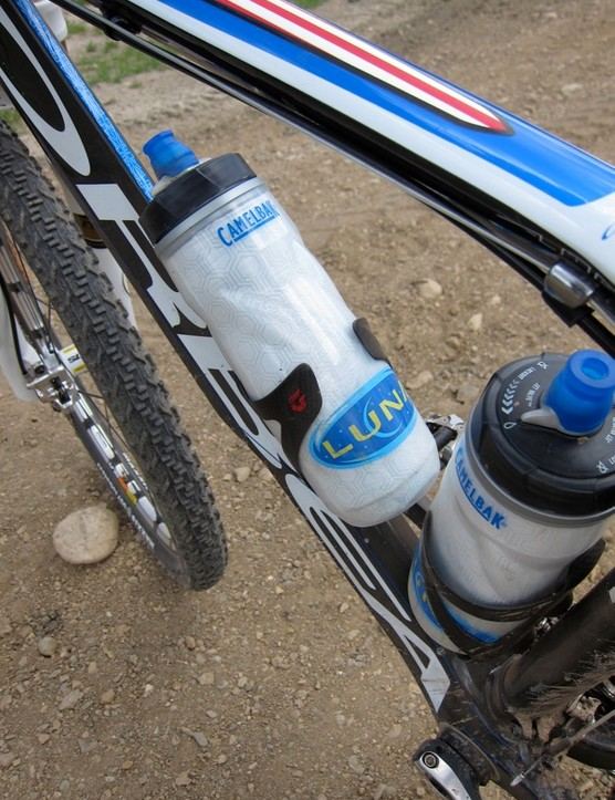 The Luna Team uses Camelbak bottles