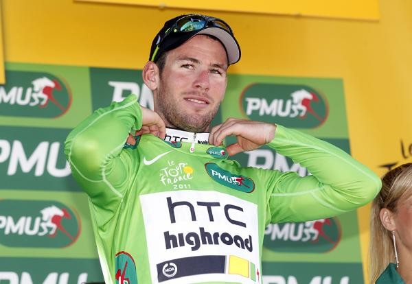 With stage 19 finishing atop l'Alpe D'Huez today, Cav may be in danger of losing points again