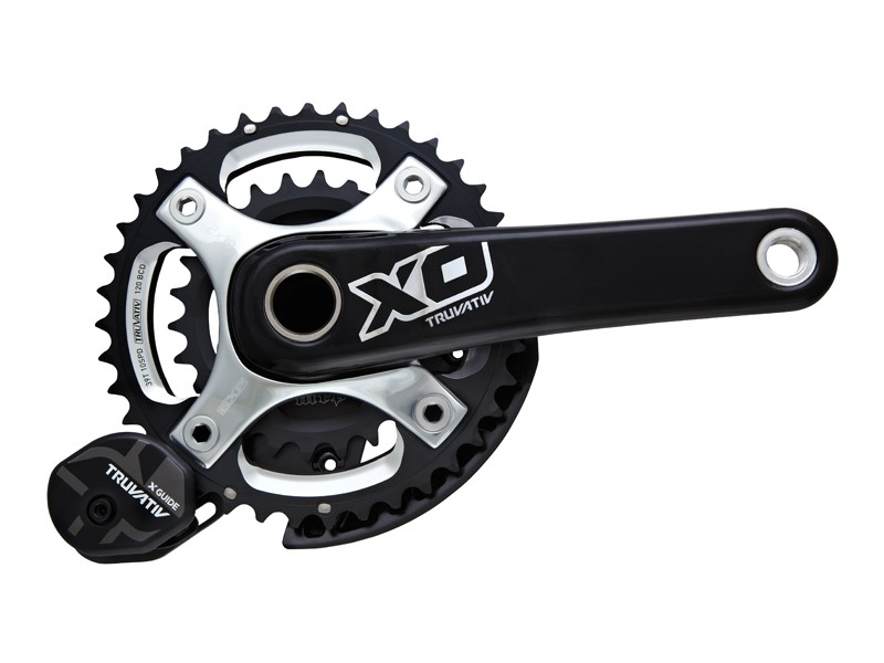 Truvativ's X0 cranks with the new X-Guide chain guide