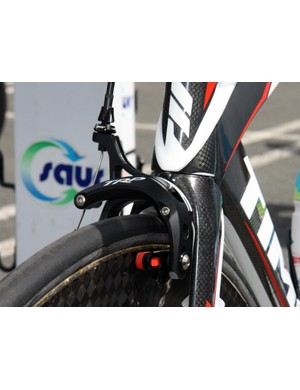 TRP provide their magnesium-armed R970SL brakes for Saur-Sojasun Time RXR time trial bikes