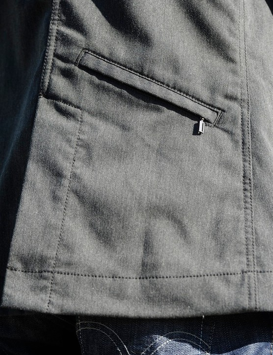 The Vice features multiple zippered pockets; this one is out back
